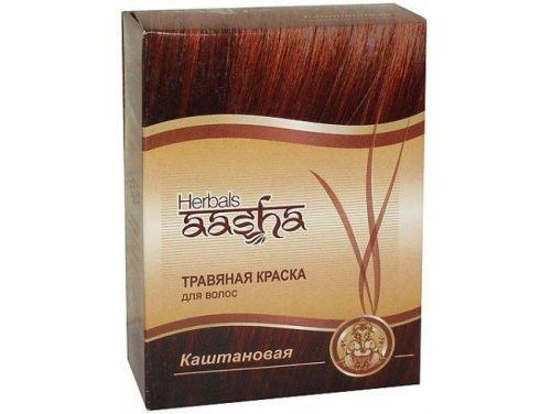 Ааша краска для волос золотисто коричневый